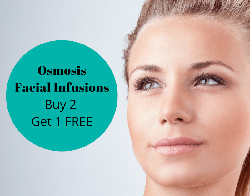 Osmosis Facial Infusions Buy 2 Get 1 FREE special Melbourne