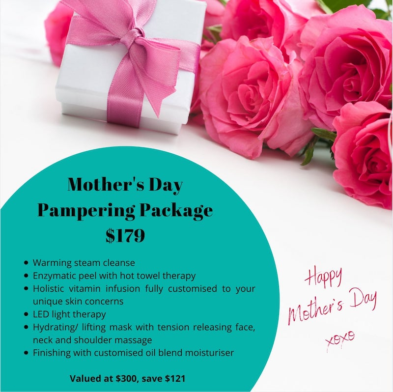 Mothers day special pamper package